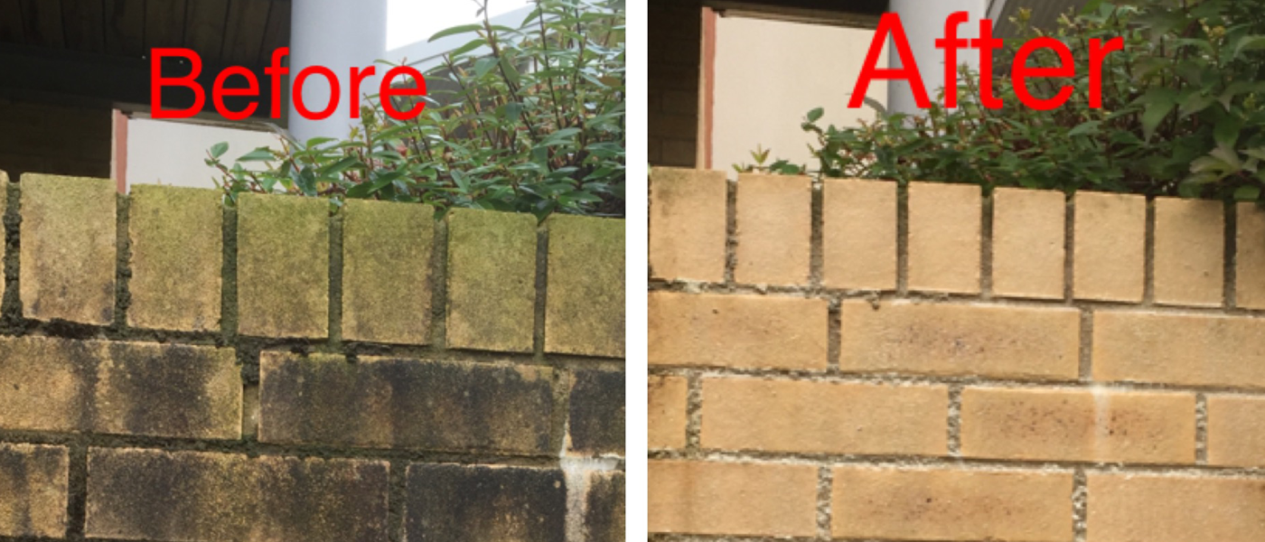 external wall cleaning
