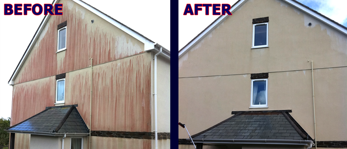 Render Cleaning Cornwall
